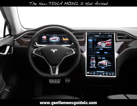 The New TESLA MODEL S Has Arrived!