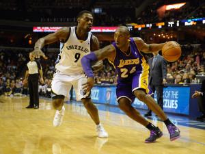 NBA: Los Angeles Lakers at Memphis Grizzlies