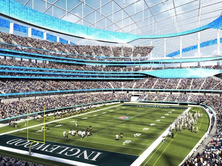 City of Champions Stadium: Home to L.A. Rams In 2019