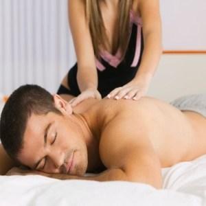 Sexy neck massage