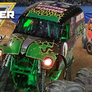 Monster Jam Triple Threat Series in Los Angeles