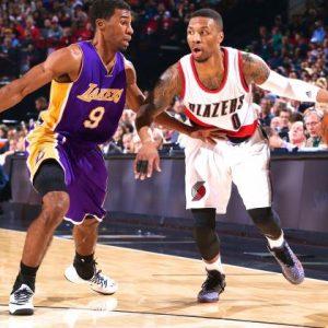 Portland Trail Blazers V.S. Los Angeles Lakers